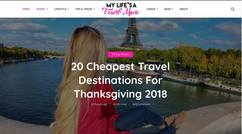 My Life's a Travel Movie Travel Blog